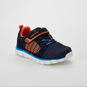 Toddler Boys Navy Gunner Light-Up Athletic Shoes